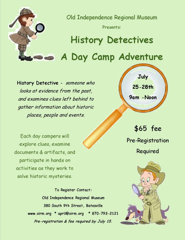Day Camp Adventure July 25-28th